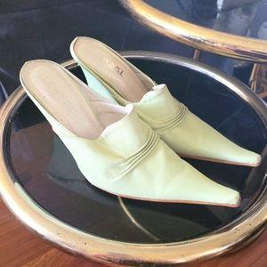Lewski original pointy toe slip-on heels